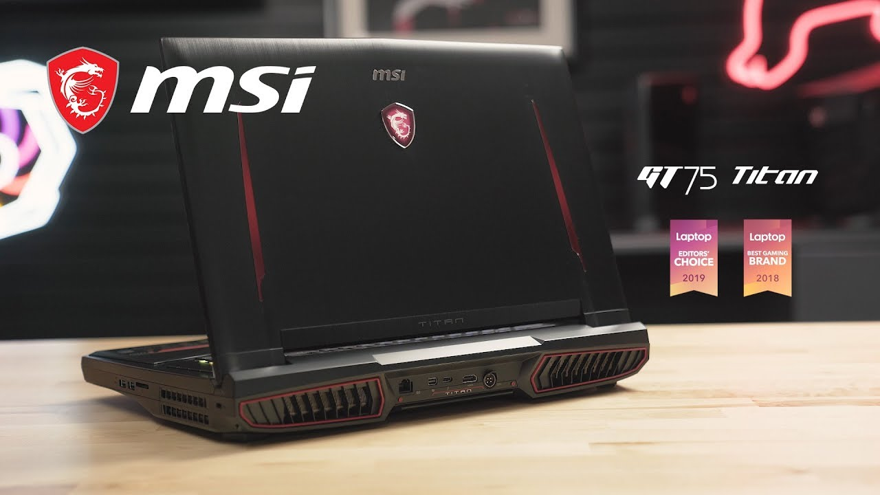 GT75 TITAN Unboxing – Steamroll the Competition | MSI