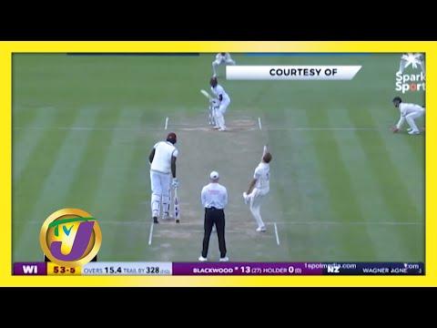 New Zealand vs West Indies | TVJ Sports News