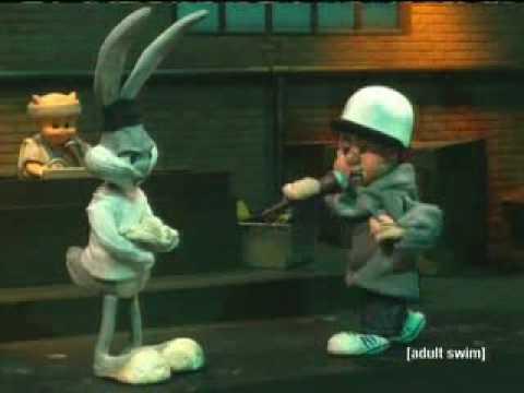Bugs Bunny Vs. Elmer Fudd Rap Battle
