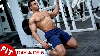 ADDED LEG DAY - JUSTIN ST PAUL DAY 4 OF 6