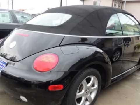 2005 Volkswagen New Beetle Convertible Lawndale Ca
