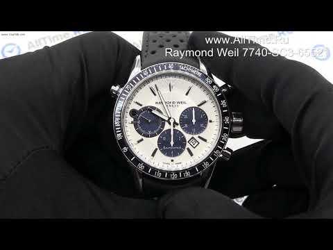Обзор. Мужские наручные часы Raymond Weil 7740-SC3-65521 с хронографом