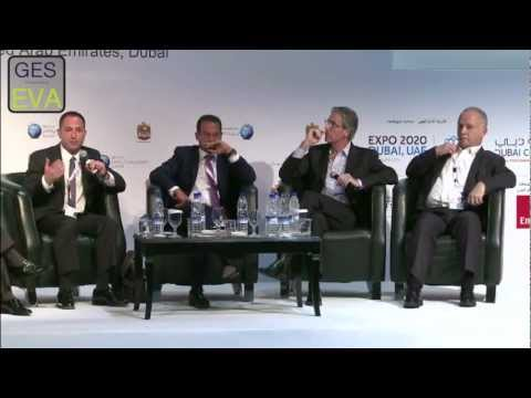 Panel: Finance Hunting - From Traditional Avenues to Alternative Channels - at GES-EVA 2012 Dubai