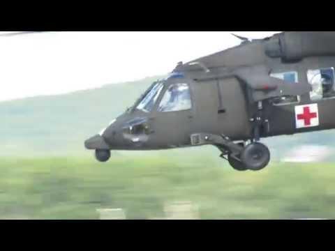 HH-60 Blackhawk   Auto-Rotation Practice