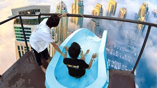 This Water Slide Will Give You Nightmares...