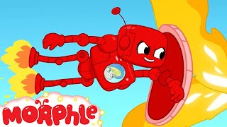 Robot Morphle Saves The Day - My Magic Pet Morphle | Cartoons For Kids | Morphle TV | Mila & Morphle