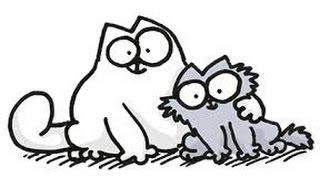Simon's cat and Kitten. Кот Саймона и котенок. #pets