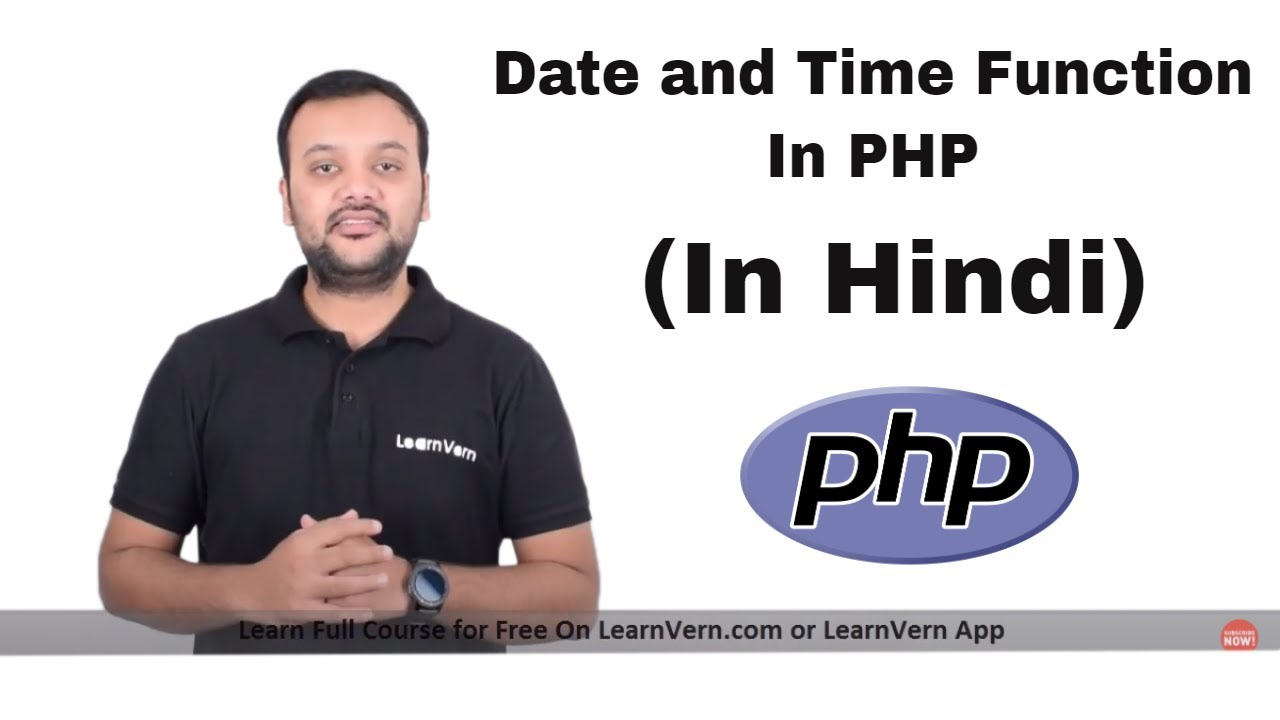 How Does Date & time function work in PHP? - Free On LearnVern