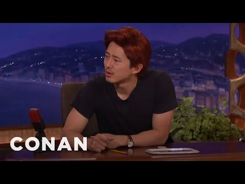 "Steven Yeun Already Has A New Post ""Walking Dead"" Job  - CONAN on TBS"