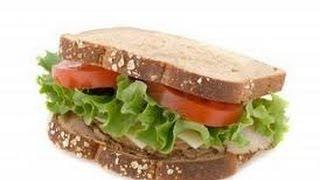 Gyro Style Pork Sandwich