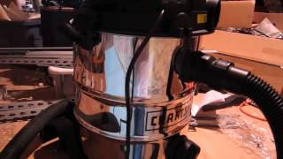 Sears Stainless Steel Shop Vac Review and Comments 8 Gallon