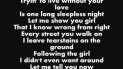 Jackson 5- I Want You Back Lyrics!