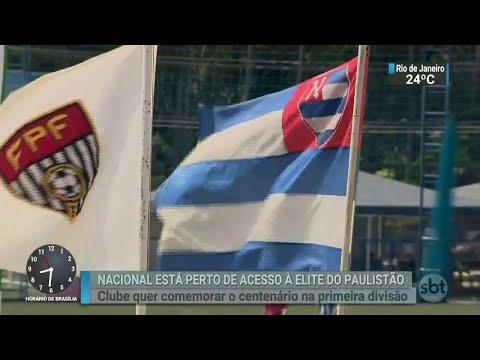 Time tradicional de SP pode voltar à primeira divisão após 60 anos| SBT Brasil (17/03/18)