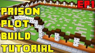 Minecraft OP Prison: How to Build Your Plot Ep. 1 (Design/Ideas)