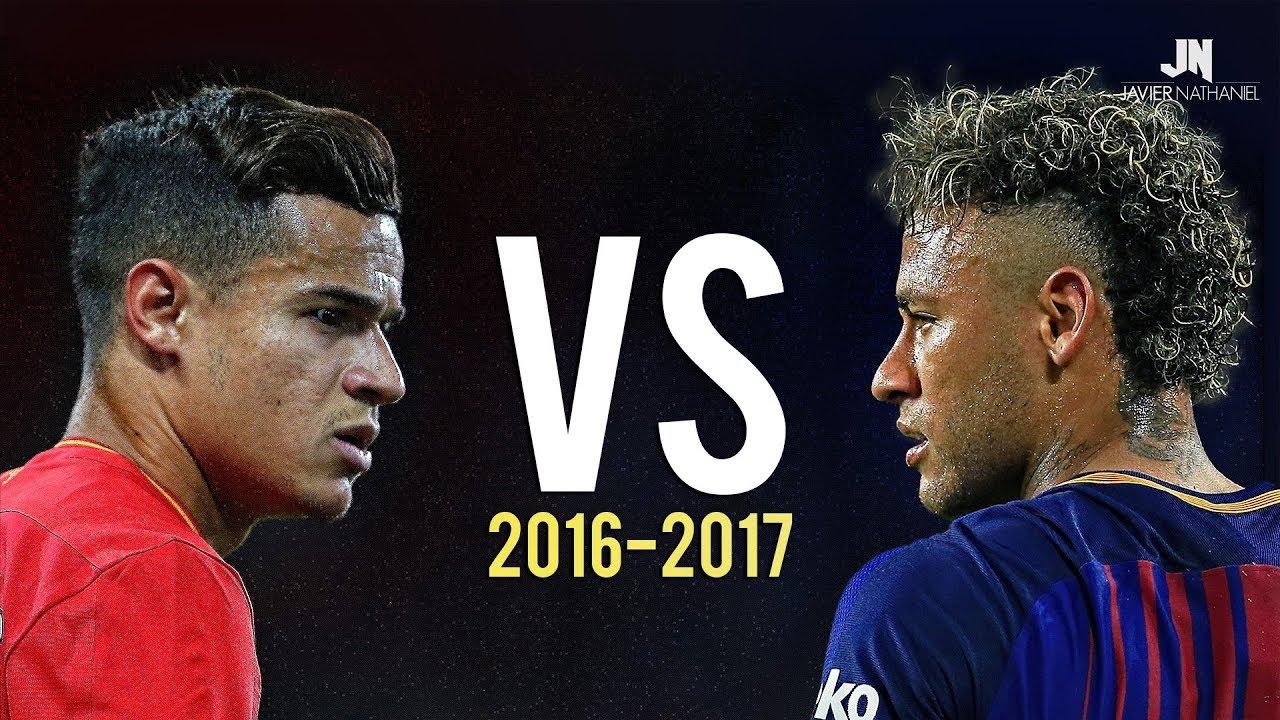 Coutinho vs Neymar Jr • Skills & Goals 2017