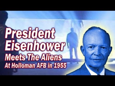 President Eisenhower Meets With The Aliens At Holloman AFB