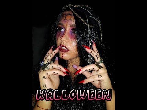 Halloween Makeup   Грим за Хелоуин   Sen Sen Bg