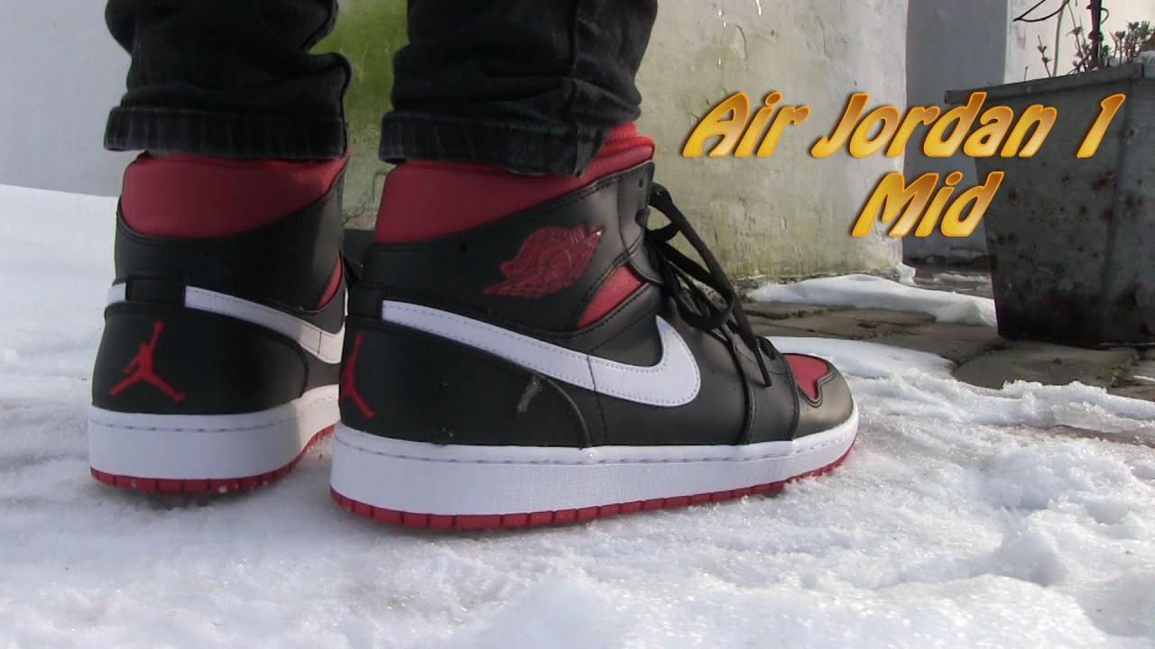 air jordan 1 mid avis