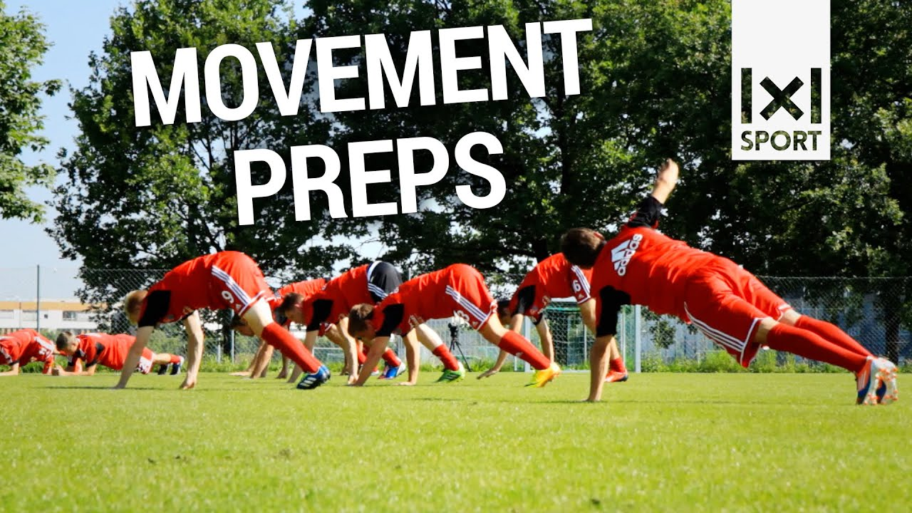 Movement Preps Dynamische Aufwärm und Fitnessübungen im Fußballtraining