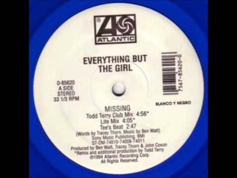 Missing Todd Terry club mix  Everything But The Girl 1996