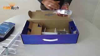 UNBOXING: Mini Repetidor de Celular Aquário RP860 e RP960 800/900 MHz