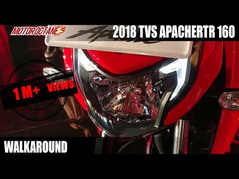 2018 TVS Apache RTR 160 4V Walkaround Review in Hindi | MotorOctane