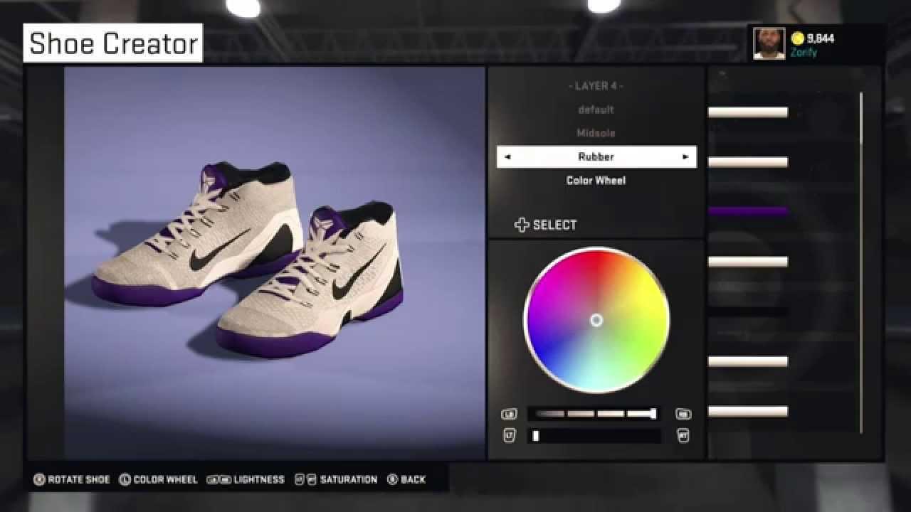 cheap for discount bffb4 c9696 NBA 2K15 Shoe Creator - Nike Kobe 9 Elite Low PE