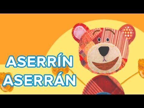 Aserrín Aserrán - Canción infantil de Traposo
