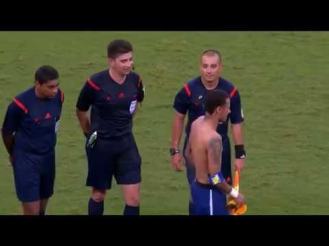 árbitro recusa camisa de Neymar