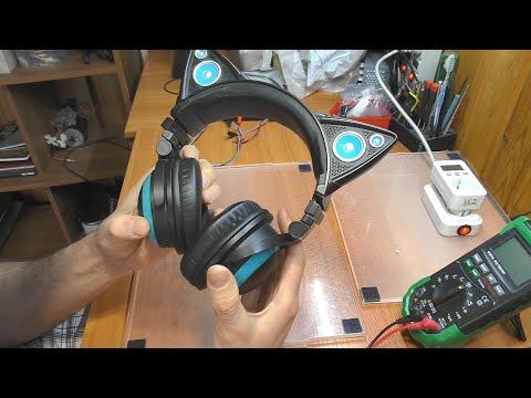 РЕМОНТ ДЛЯ ПОДПИСЧИКА: Наушники Brookstone Axer Cat Ears / Пропадает подсветка