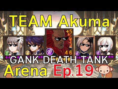 Seven Knights Arena ep.19 แก๊งอาคุมะ ถล่มอารีน่า !!!  ใครเจ๋งก็เข้ามาพี่จะซัดให้เรียบ