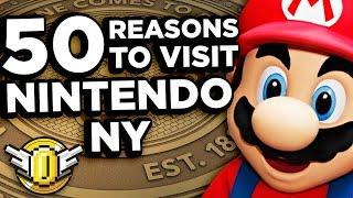 50 Reasons YOU Should Visit Nintendo NY - Super Coin Crew
