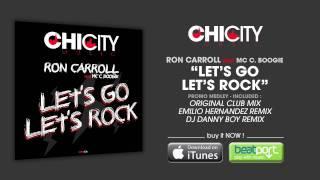 ron carroll feat mc c boogie let s go let s rock teaser