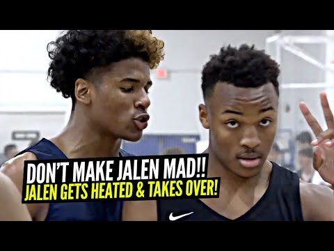 Jalen Green GETS HEATED During PHYSICAL Game & Then TAKES OVER In Clutch! Ziaire Williams GOES OFF!