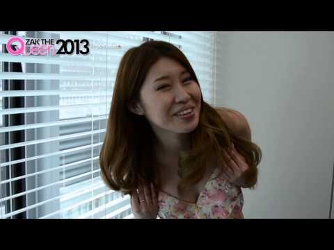 シンガーソングライターでグラビアアイドル、蒼木ゆうり(24)がZAKZAKのアイドル企画「ZAK THE QUEEN 2013」の...