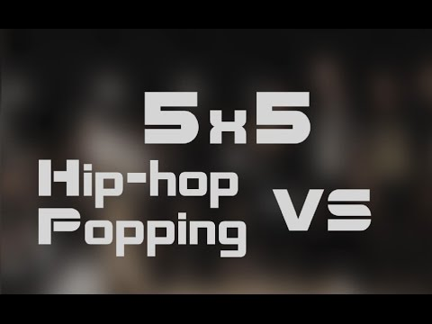 Hip-hop VS Popping, 5x5   GFF Battle   Moscow 2015