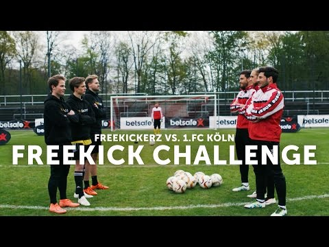 Freekickerz vs 1. FC Köln - Betsafe Freekick Challenge