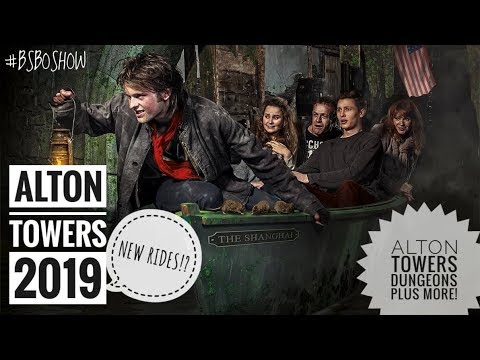 NEW for Alton Towers 2019!