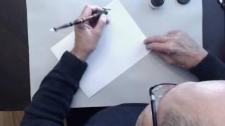 ЛЕВША. Как писать каллиграфию?
