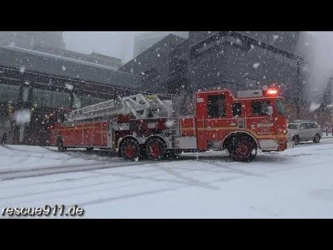 Engine 10 + Ladder 1 Seattle Fire Department