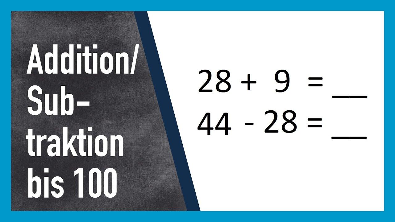 Rechnen Addition und Subtraktion bis 20