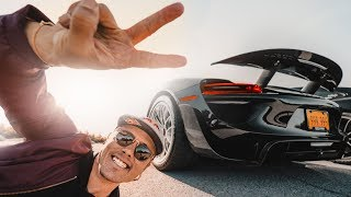 FULL SPEED IN A $2.4M PORSCHE 918 WP! | VLOG² 89