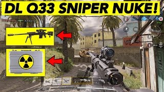 DL Q33 SNIPER NUKE VS PRO PLAYERS! (45-0) | CALL OF DUTY MOBILE