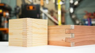 Making Box Joint Jig That Can Make Different Size of Joints. Don't need Dado blades