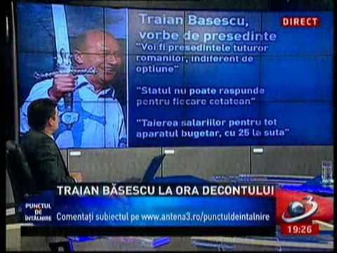 Traianus Basescu Redivivus