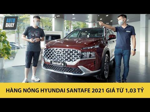 Trải nghiệm nhanh HÀNG NÓNG Hyundai Santa Fe 2021 vừa về đại lý, giá từ 1,03 tỷ đồng |Autodaily.vn|