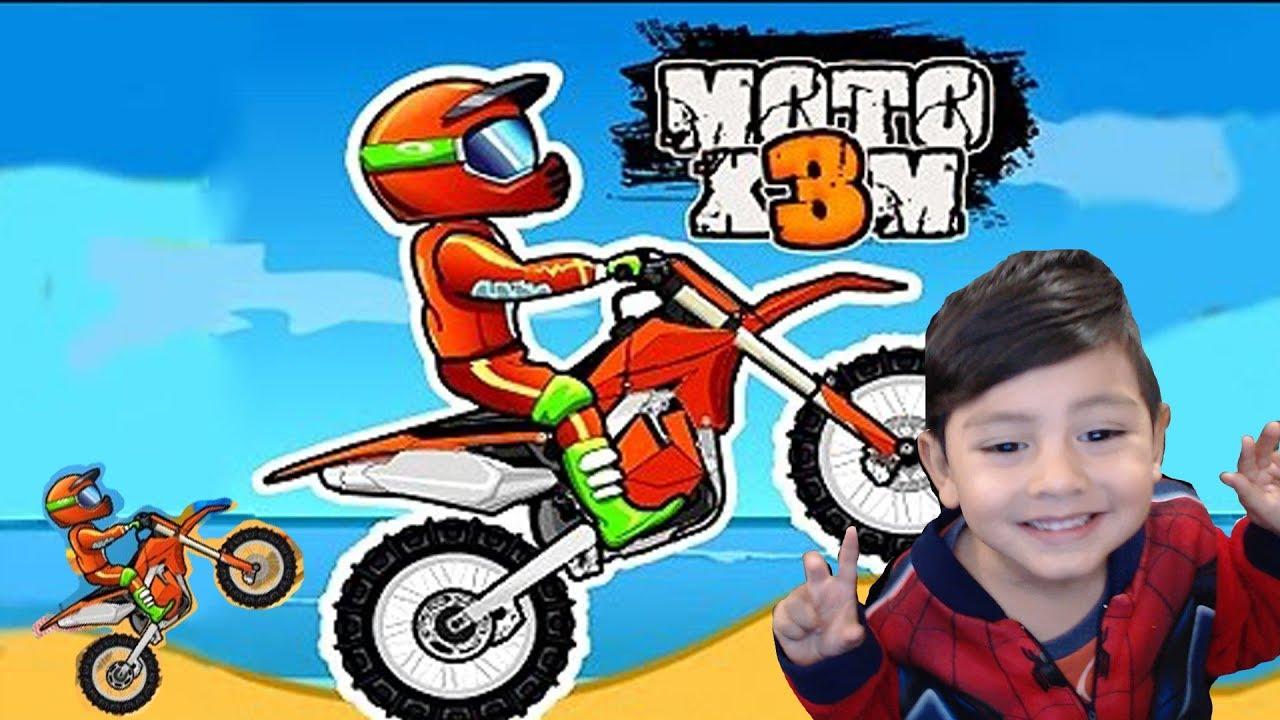 Juegos De Motos Para Niños Moto X3m Motos Extremas Juegos Android Para Niños Youtube