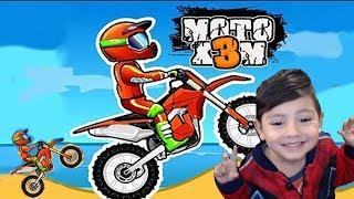 Juegos de Motos para Niños - Moto X3M | Motos Extremas | Juegos Android para niños