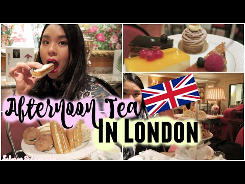 Having Afternoon Tea in LONDON | Singaporean tries Afternoon Tea | roseannetangrs