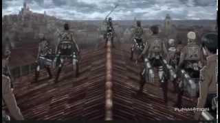 Attack on Titan Dub Clip - Mikasa
